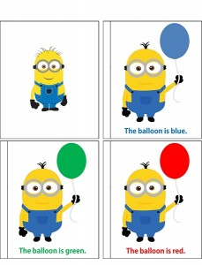 minions color pages