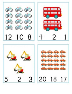 number cards vehicles  (1)