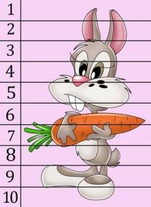 number puzzle rabbit