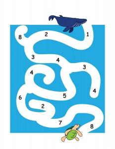 ocean animals labyrinth