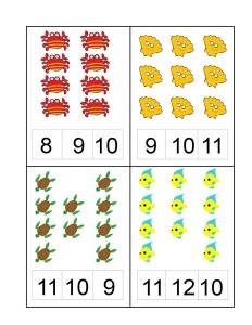 ocean animals number