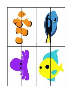 ocean animals puzzle activity