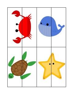 ocean animals puzzles free