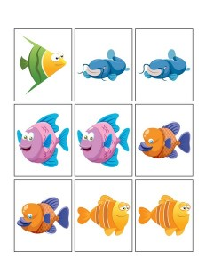 ocean animals worksheets fıshes