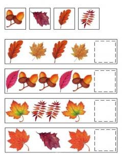 pattern for kındergarten