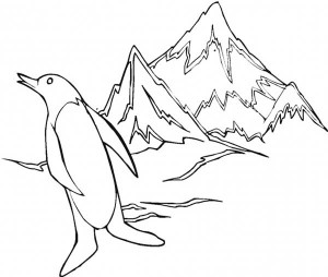 penguin coloring pages fun (1)
