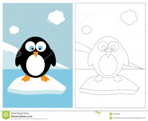 penguin coloring pages fun (12)