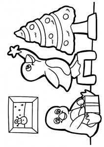 penguin coloring pages fun (13)