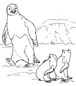 penguin coloring pages fun (28)