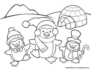penguin coloring pages fun (35)