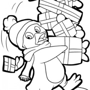 penguin coloring pages fun (6)