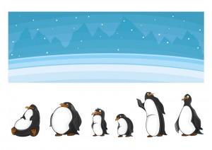 penguin printables size