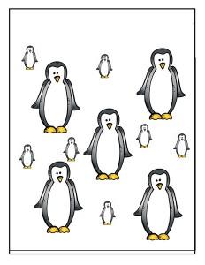 penguin size activity