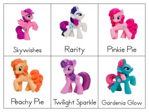 piecess my little pony
