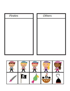 pirate worksheets group