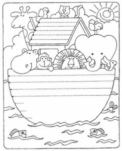 preschool tracing line and coloring funny