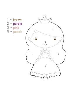 princess activities printables for kıds (4)