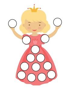 princess do a dot activities (5)