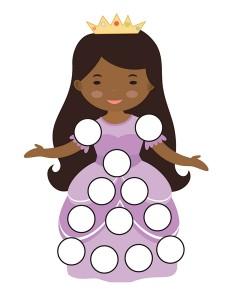 princess do a dot activities (6)