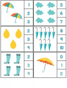 rain themed counting activity with clothespin (4)