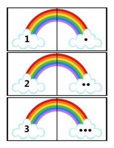 rainbow method learning math