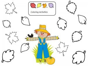 scarecrow activities for kıds