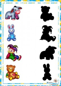 shadow matching  for kıds,preschoolers (4)