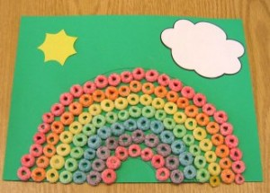 shamrock rainbow crafts