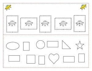 space theme shapes worksheets (3)