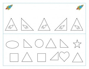 space theme shapes worksheets (9)