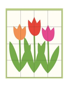 spring printables flower puzzle