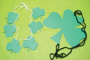 st patricks day necklace craft