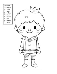 story addition coloring worksheets (10)