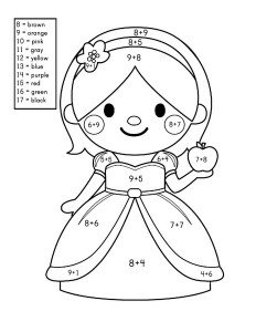 story addition coloring worksheets (2)