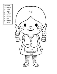 story addition coloring worksheets (4)
