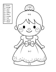 story addition coloring worksheets (6)