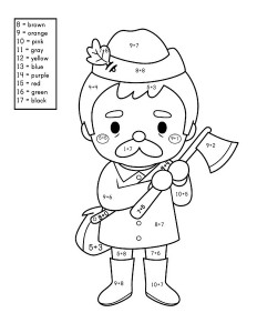 story addition coloring worksheets (7)