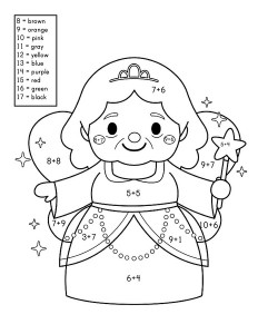 story addition coloring worksheets (9)