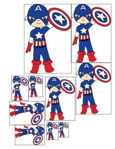 superheroes worksheets captain america