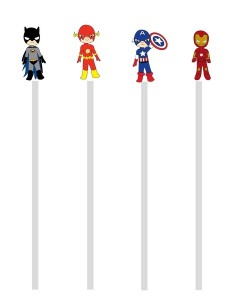 Superheroes Worksheets for K ds