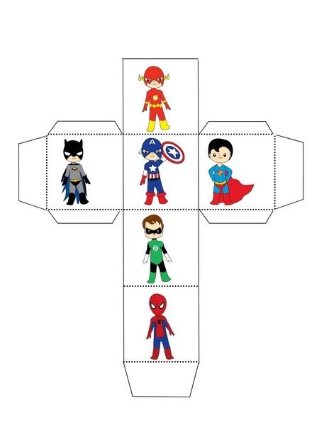 Superheroes Worksheets Makeadice Funnycrafts