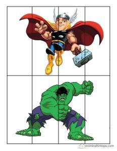 superheroes worksheets puzzle activities