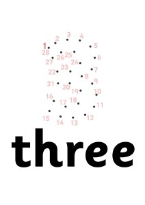 three dot to dot activities