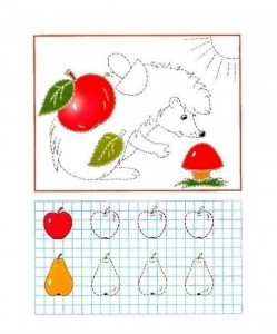 tracing line and coloring spring
