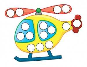 transportation printables helicopter