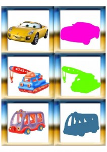 vehicles shadow matching for kıds (5)