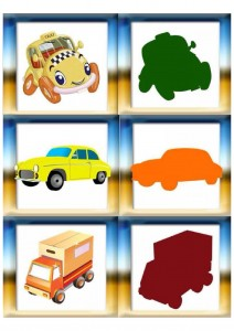 vehicles shadow matching for kıds (7)