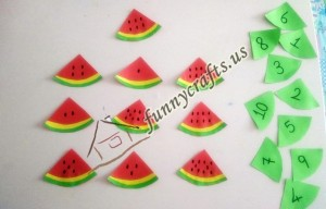 watermelon counting game