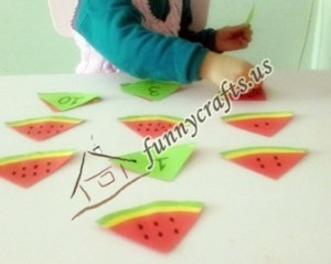 watermelon fun math activities