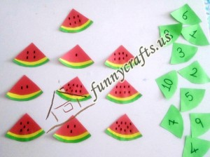 watermelon theme toddler activities